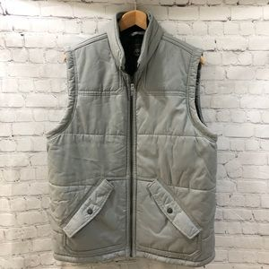 Timberland Men's Gray Vest Size XL